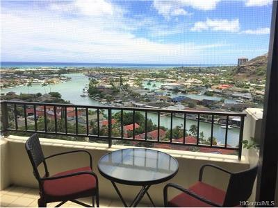 Honolulu County Condo/Townhouse In Escrow Showing: 6750 Hawaii Kai Drive #1306