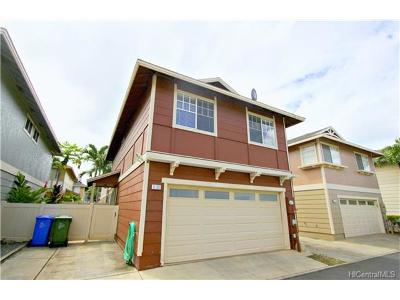 Ewa Beach Single Family Home For Sale: 91-266 Makalea Street