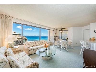 Hawaii County, Honolulu County Condo/Townhouse For Sale: 1778 Ala Moana Boulevard #3201
