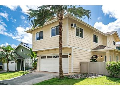 Mililani Single Family Home In Escrow Showing: 95-1151 Wikao Street #102