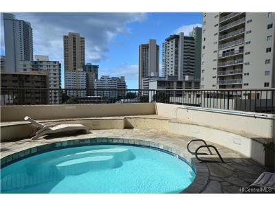 Hawaii County, Honolulu County Rental For Rent: 320 Liliuokalani Avenue #2304