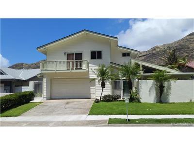 Honolulu Single Family Home For Sale: 1354 Kaeleku Street