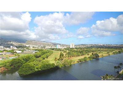 Hawaii County, Honolulu County Condo/Townhouse For Sale: 2211 Ala Wai Boulevard #1511