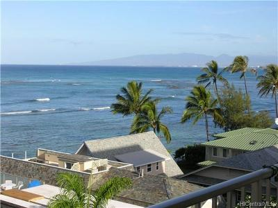 Honolulu Condo/Townhouse In Escrow Showing: 2801 Coconut Avenue #6G