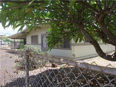 Waipahu Single Family Home In Escrow Showing: 94-415 Pilimai Street