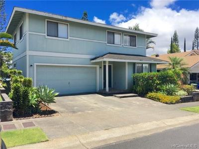Mililani Single Family Home In Escrow Showing: 95-1093 Halekua Street #68