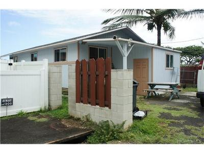 Hauula Single Family Home For Sale: 54-225 Honomu Street