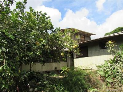 Waialua Single Family Home For Sale: 68-420 Olohio Street