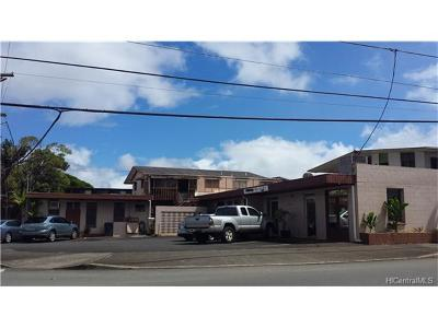 Wahiawa Single Family Home In Escrow Showing: 202 Palm Street