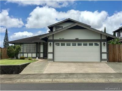 Mililani Single Family Home In Escrow Showing: 95-225 Kuanoni Place