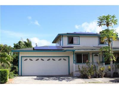 Waialua Single Family Home For Sale: 68-119 Akule Street