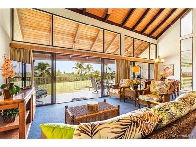 Kailua Condo/Townhouse For Sale: 78-7070 Alii Drive #E301