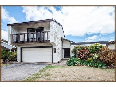 Waipahu Single Family Home For Sale: 94-1125 Manino Place