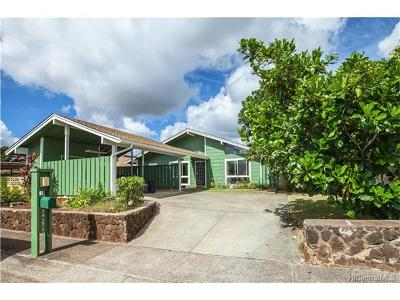 Mililani Single Family Home For Sale: 94-271 Kuanalio Loop