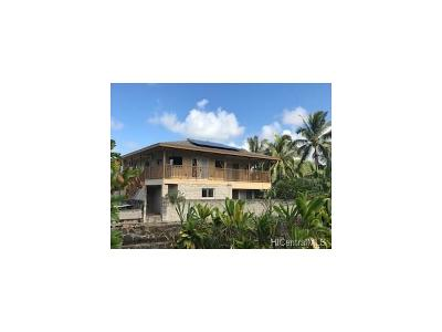 Hauula Single Family Home For Sale: 54-31b Hauula Hmstd Road