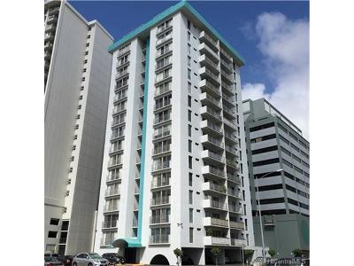 Honolulu Condo/Townhouse For Sale: 731 Amana Street #203