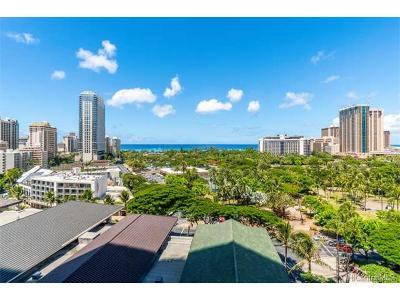Honolulu Condo/Townhouse For Sale: 383 Kalaimoku Street #1103