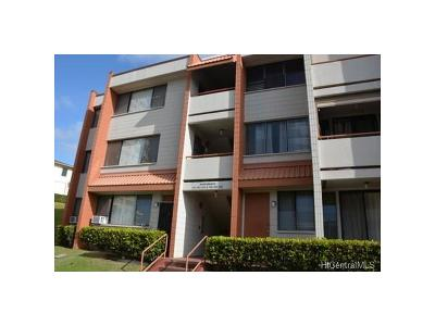 Pearl City Condo/Townhouse In Escrow Showing: 1103 Acacia Road #201