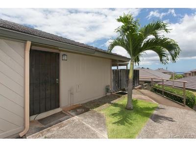 Waipahu Condo/Townhouse In Escrow Showing: 94-840 Lelepua Street #14C