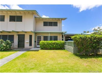 Honolulu County Condo/Townhouse For Sale: 6217 Milolii Place #104A