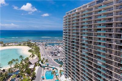 Hawaii County, Honolulu County Condo/Townhouse For Sale: 1777 Ala Moana Boulevard #2026