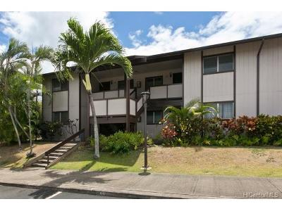 Pearl City Condo/Townhouse In Escrow Showing: 96-226 Waiawa Road #50