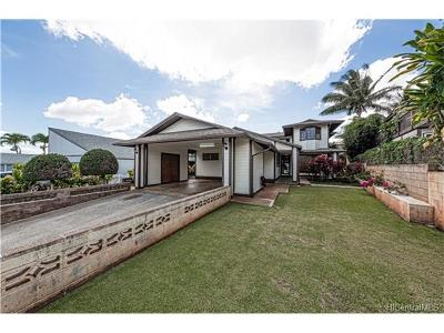 Mililani Single Family Home In Escrow Showing: 94-568 Poloahilani Street