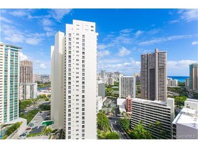 Hawaii County, Honolulu County Condo/Townhouse For Sale: 400 Hobron Lane #2607