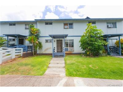 Pearl City Condo/Townhouse In Escrow Showing: 98-1426 Kaahumanu Street #D