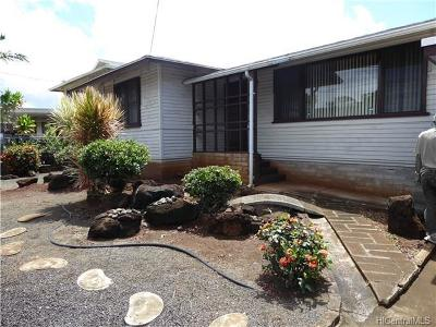 Pearl City Single Family Home In Escrow Showing: 1133 Waimano Home Road