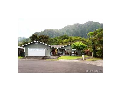 Single Family Home For Sale: 46-320 Kupale Street