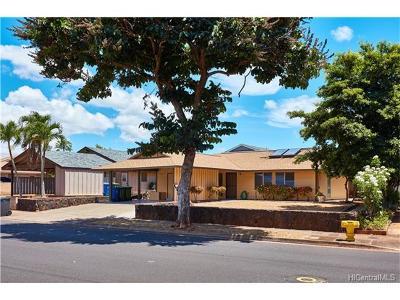 Mililani Single Family Home For Sale: 94-734 Lanikuhana Avenue