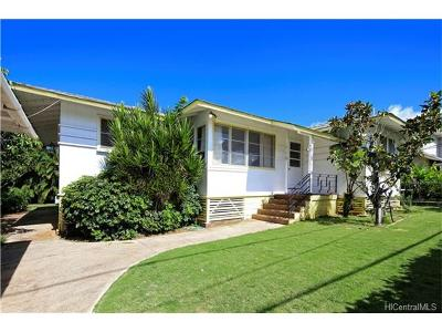 Pearl City Single Family Home In Escrow Showing: 98-145 Kaulike Drive