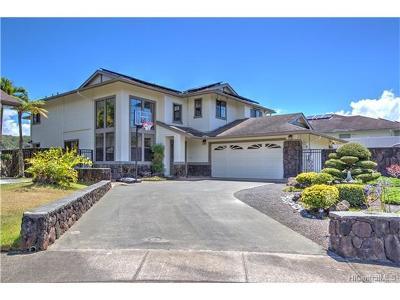 Mililani Single Family Home For Sale: 95-1002 Kahanui Street