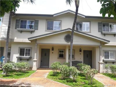 Ewa Beach Condo/Townhouse For Sale: 91-1055 Kaimalie Street #2N3