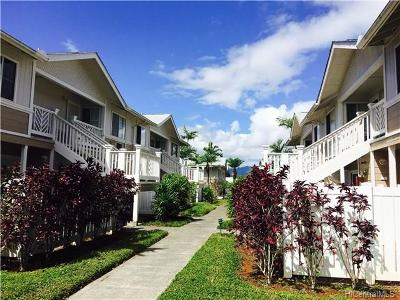 Mililani HI Condo/Townhouse In Escrow Showing: $415,000