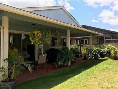 Waipahu Single Family Home In Escrow Showing: 94-1022 Hohola Street