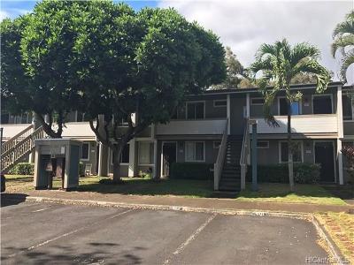 Mililani Condo/Townhouse For Sale: 95-749 Hokuwelowelo Place #L102