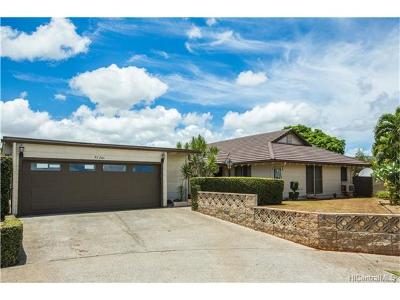 Mililani Single Family Home In Escrow Showing: 95-201 Kahiku Place