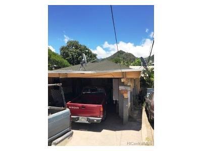 Honolulu Single Family Home For Sale: 1714 Laumaile Street
