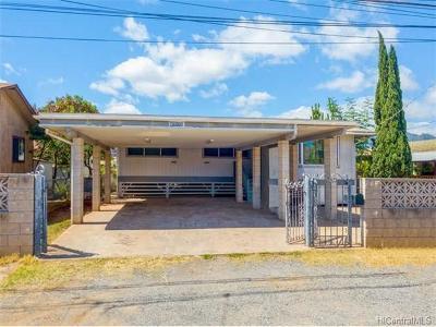 Waianae Single Family Home For Sale: 87-112 Liopolo Street