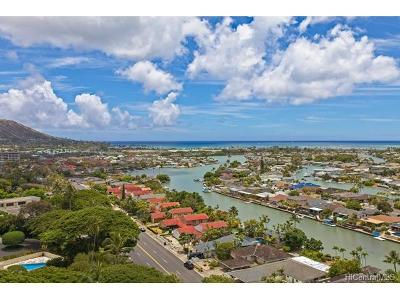 Condo/Townhouse For Sale: 6710 Hawaii Kai Drive #1500