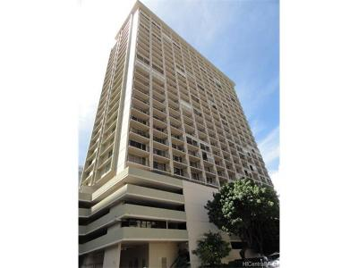 Honolulu Condo/Townhouse In Escrow Showing: 2345 Ala Wai Boulevard #811
