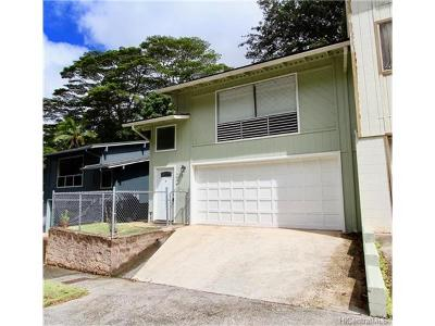 Pearl City Single Family Home In Escrow Showing: 2506 Akepa Street