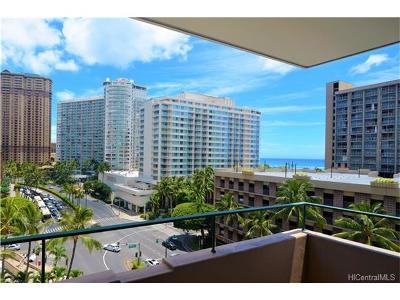Honolulu Condo/Townhouse For Sale: 1720 Ala Moana Boulevard #A/909