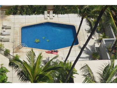Honolulu Condo/Townhouse For Sale: 1720 Ala Moana Boulevard #A/1201
