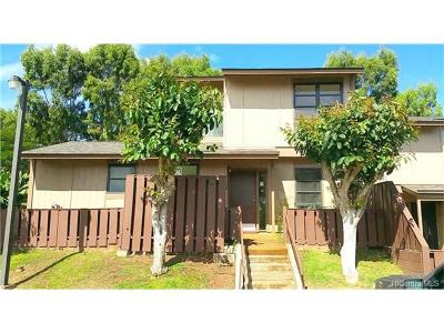 kapolei Condo/Townhouse In Escrow Showing: 92-1048 Kanehoa Loop #75