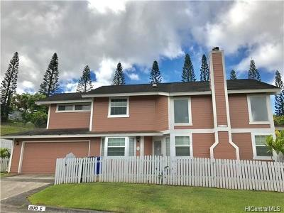 Pearl City Single Family Home In Escrow Showing: 98-1870 Kaahumanu Street #C