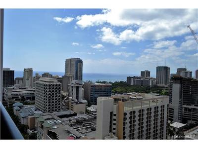 Condo/Townhouse For Sale: 2240 Kuhio Avenue #2514