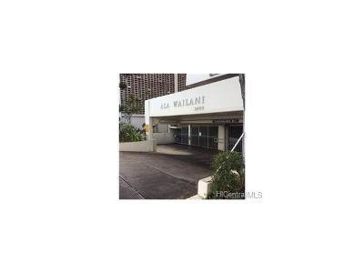 Honolulu Condo/Townhouse For Sale: 2609 Ala Wai Boulevard #904